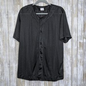 Urban Outfitters Black Mesh Jersey Large